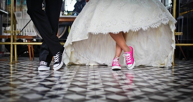 Marriage, Bridal, Wedding, Shoes, Wedding Dress